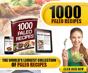 1000 Paleo Recipes Advertisement